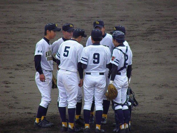 平成24年度栃木県高等学校野球春季大会 1回戦