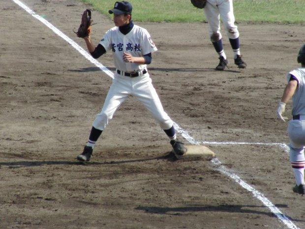 第63回秋季関東地区高校野球埼玉県大会 準々決勝