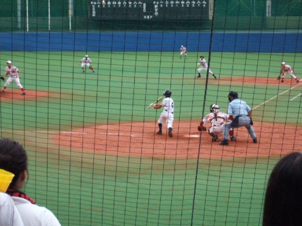 2009/07/23 都立足立新田高校 対 雪谷高校