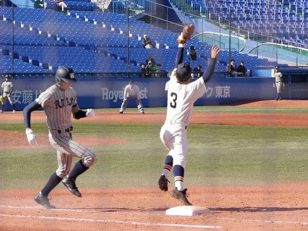 第45回記念明治神宮野球大会高校の部 1回戦