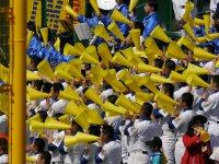 大会第 8日目 2回戦 3月29日 聖光学院高校 対 横浜高校 聖光学院高校応援風景
