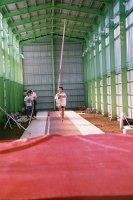 坂本選手の練習風景1