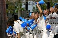 9月21日 上尾高等学校 対 慶應志木高等学校 応援風景